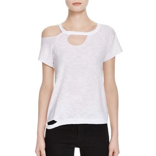 phong cách mẫu áo phông công sở nữ biến đổi 2