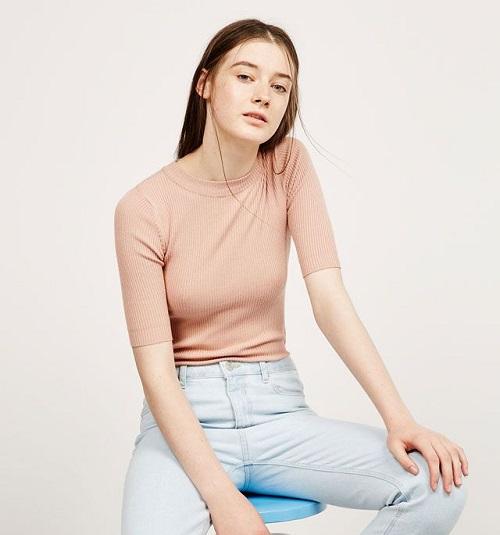 phong cách mẫu áo phông công sở nữ biến đổi 3