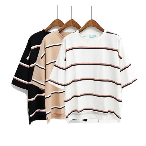 phong cách mẫu áo phông công sở nữ biến đổi 4