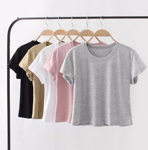 phong cách mẫu áo phông công sở nữ biến đổi 5