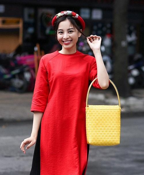 rộn ràng mẫu áo dài tết cho nữ cách tân 2