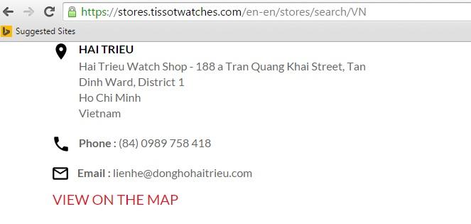 7 Lý Do Vì Sao Nên Mua Đồng Hồ Tissot Tại Hải Triều Ngay Bây Giờ Trên Website Tissot
