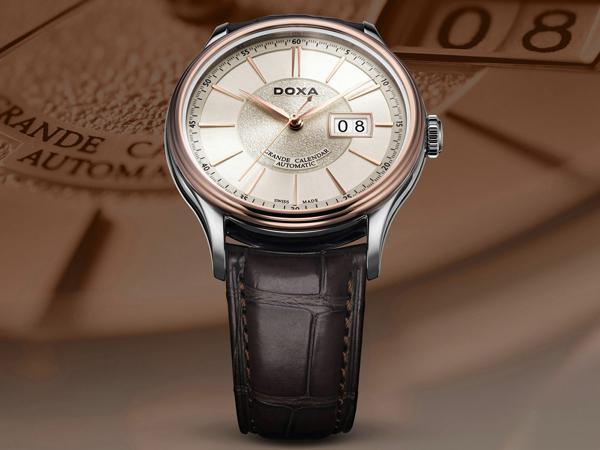 Doxa Grande Calendar D187, Dòng Đồng Hồ Big Date Đẹp Rất Tao Nhã D187RIY