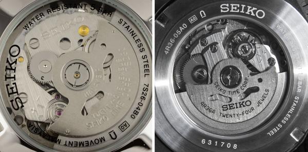 Khám Phá Seiko 4R36 (Hay NH36), Máy Automatic Nhật Siêu Bền 7S26 Và 4R36