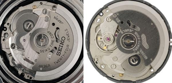 Khám Phá Seiko 4R36 (Hay NH36), Máy Automatic Nhật Siêu Bền 4R36A Và NH36A