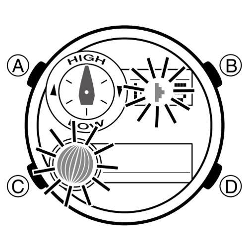 Cách Dùng Đồng Hồ G-Shock GAX-100: Thủy Triều, Moon Data, Nhiệt Kế Đảo Chiều Pha Mặt Trăng