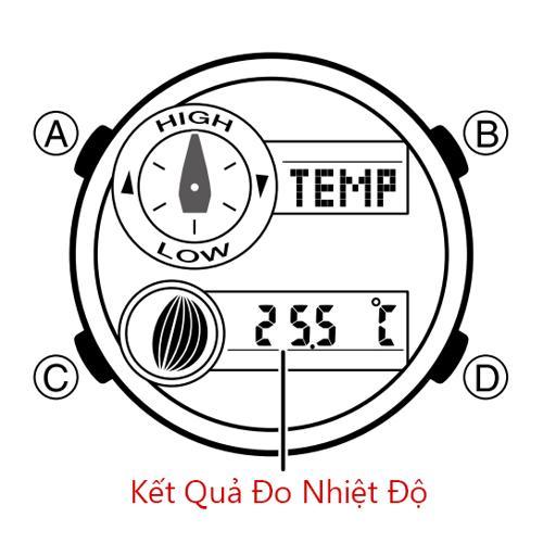 Cách Dùng Đồng Hồ G-Shock GAX-100: Thủy Triều, Moon Data, Nhiệt Kế Đo Nhiệt Độ