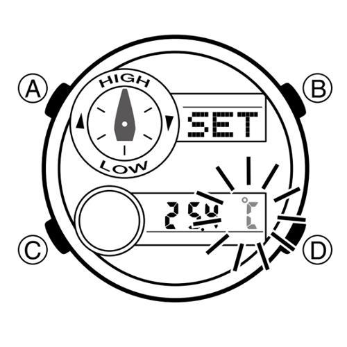 Cách Dùng Đồng Hồ G-Shock GAX-100: Thủy Triều, Moon Data, Nhiệt Kế Đổi Đơn Vị Đo Nhiệt Độ