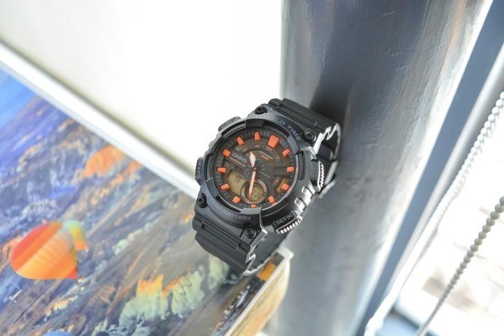 Đồng hồ Casio AEQ-110W-1A2VDF giá rẻ, siêu chức năng tiện ích - Ảnh 1