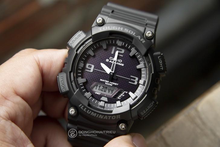 Đồng hồ Casio AQ-S810W-1A2VDF: Máy Solar hiện đại với giá rẻ - Ảnh 3