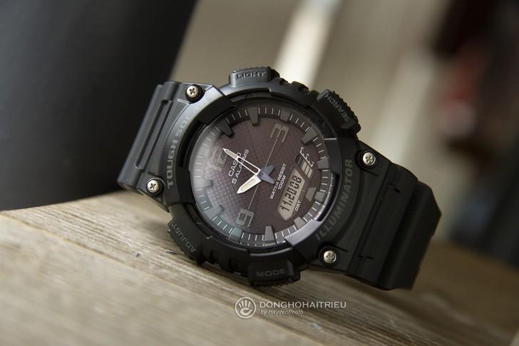 Đồng hồ Casio AQ-S810W-1A2VDF: Máy Solar hiện đại với giá rẻ - Ảnh 2