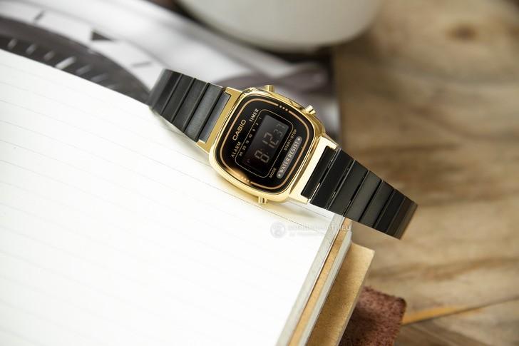 Đồng hồ nữ Casio LA670WEGB-1BDF giá rẻ, thay pin miễn phí - Ảnh 1