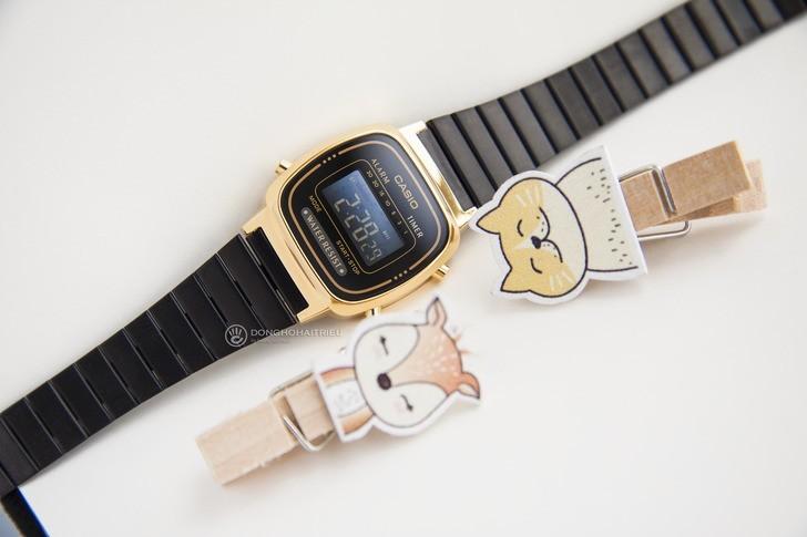 Đồng hồ nữ Casio LA670WEGB-1BDF giá rẻ, thay pin miễn phí - Ảnh 2
