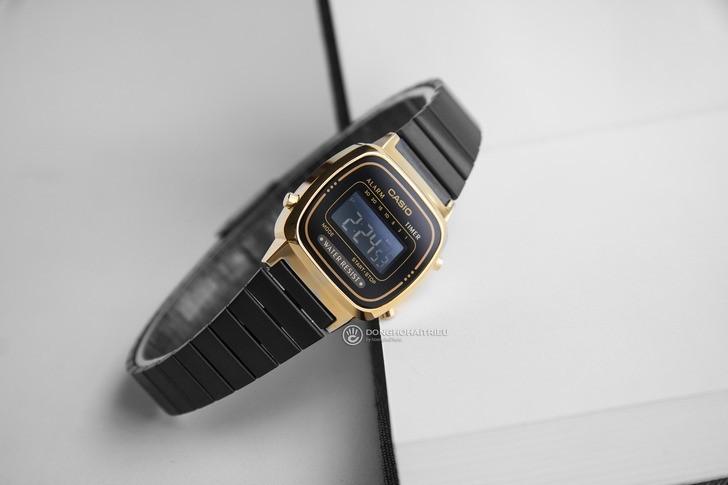 Đồng hồ nữ Casio LA670WEGB-1BDF giá rẻ, thay pin miễn phí - Ảnh 3