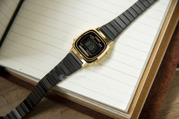 Đồng hồ nữ Casio LA670WEGB-1BDF giá rẻ, thay pin miễn phí - Ảnh 5