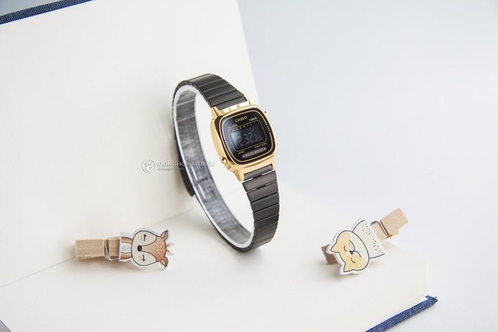Đồng hồ nữ Casio LA670WEGB-1BDF giá rẻ, thay pin miễn phí - Ảnh 8