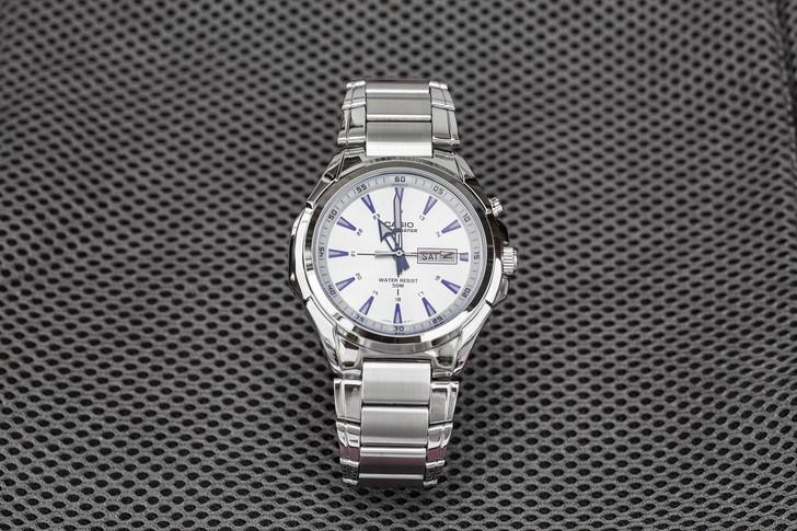 Đồng hồ Casio MTP-E200D-7A2VDF giá rẻ, thay pin miễn phí - Ảnh 1