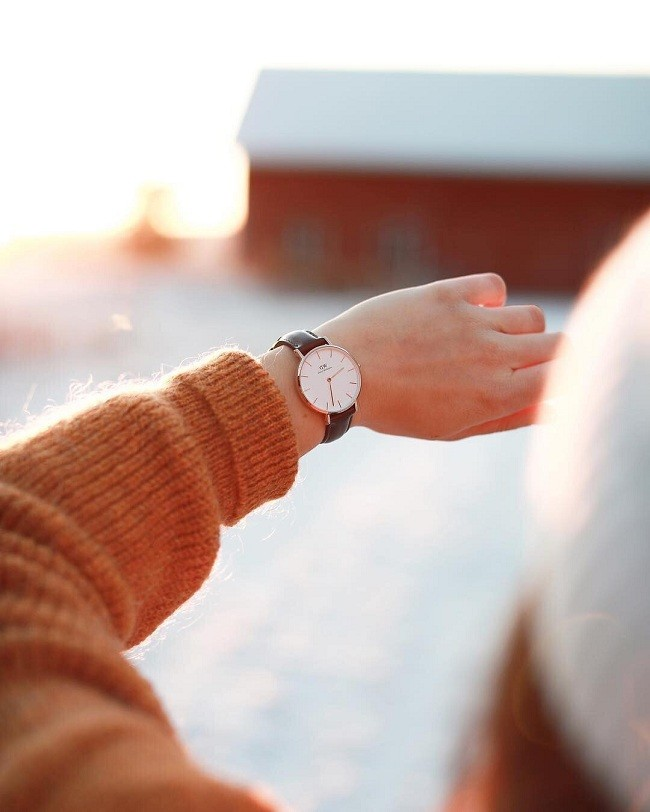 Đồng hồ nữ Daniel Wellington DW00100242 thay pin miễn phí - Ảnh 2