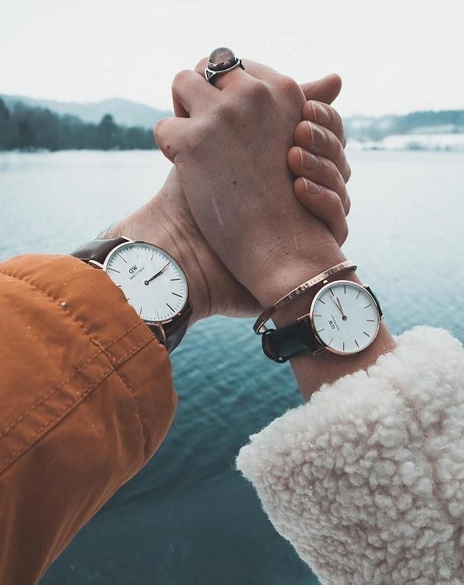 Đồng hồ nữ Daniel Wellington DW00100242 thay pin miễn phí - Ảnh 5