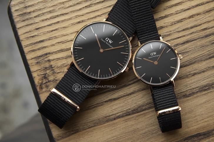 Đồng hồ nữ Daniel Wellington DW00100247 thay pin miễn phí - Ảnh 1