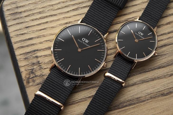 Đồng hồ nữ Daniel Wellington DW00100247 thay pin miễn phí - Ảnh 3