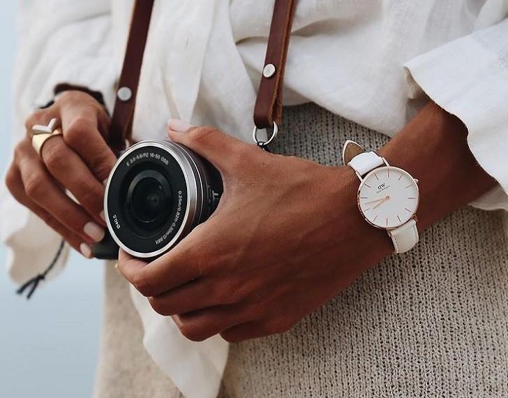 Đồng hồ Daniel Wellington DW00100249 siêu mỏng, trẻ trung - Ảnh 1
