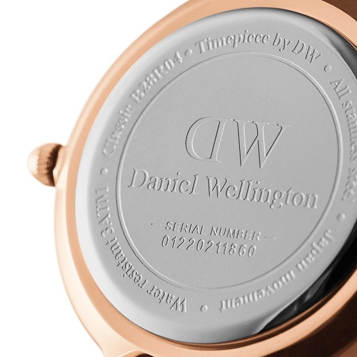 Đồng hồ nữ Daniel Wellington DW00100251 thay pin miễn phí - Ảnh 4