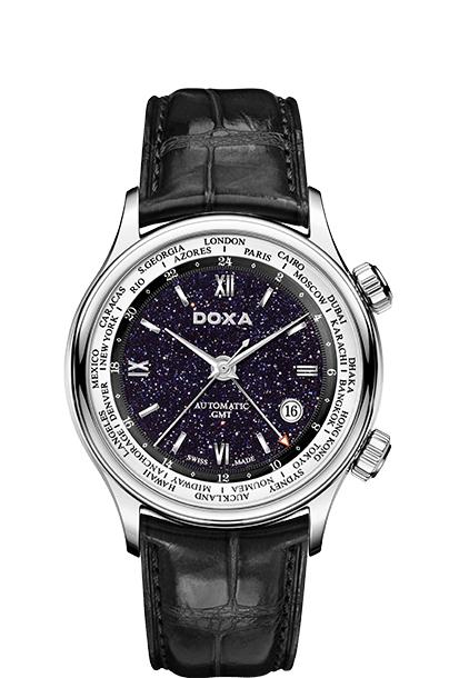 Doxa Blue Planet GMT D181, Vẻ Đẹp Của Thời Gian Và Thiên Nhiên SP3 D181SBU