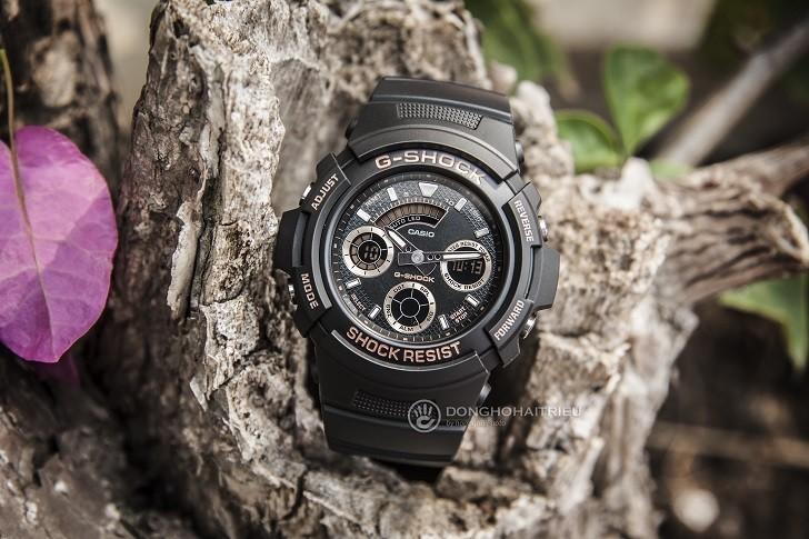 Đồng hồ Casio AW-591GBX-1A4DR thoải mái hoạt động thể thao - Ảnh 1