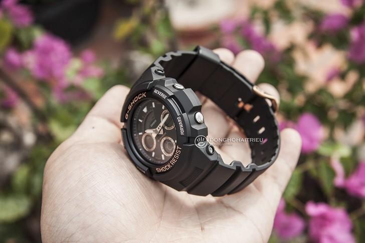 Đồng hồ Casio AW-591GBX-1A4DR thoải mái hoạt động thể thao - Ảnh 2