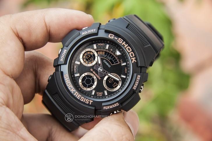 Đồng hồ Casio AW-591GBX-1A4DR thoải mái hoạt động thể thao - Ảnh 3