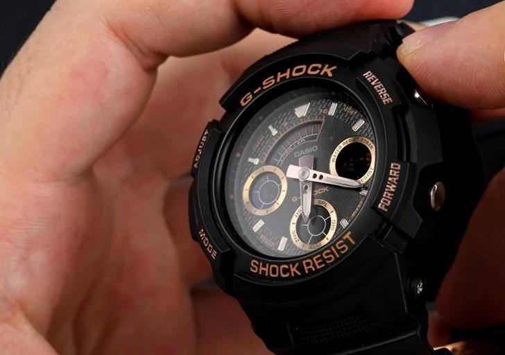 Đồng hồ Casio AW-591GBX-1A4DR thoải mái hoạt động thể thao - Ảnh 4