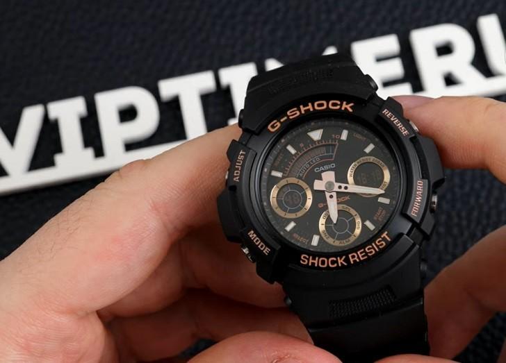 Đồng hồ Casio AW-591GBX-1A4DR thoải mái hoạt động thể thao - Ảnh 5