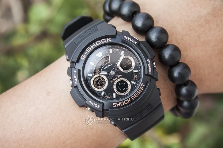 Đồng hồ Casio AW-591GBX-1A4DR thoải mái hoạt động thể thao - Ảnh 6