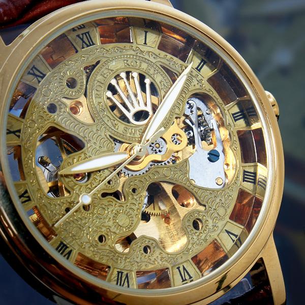 Mua Đồng Hồ Cơ Lộ Máy Rolex: 100% Dính Bẫy, Coi Chừng Lầm To Mặt Skeleton