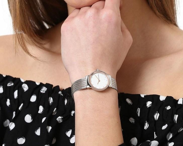 Đồng hồ Skagen SKW2699 siêu mỏng 7mm, Free thay pin trọn đời - Ảnh 3