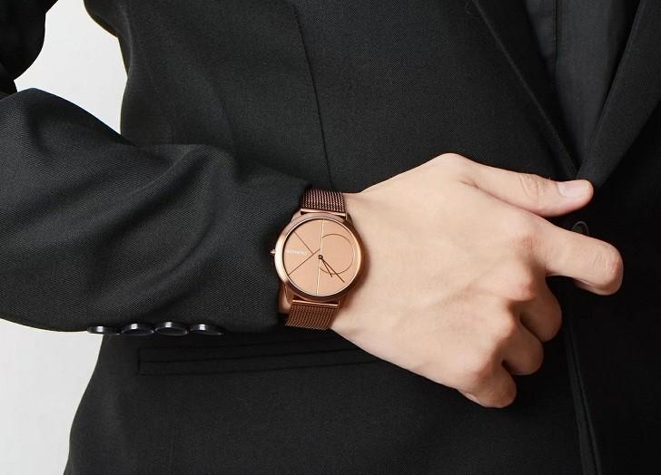 Đồng hồ Calvin Klein K3M11TFK giá rẻ, thay pin miễn phí - Ảnh 1