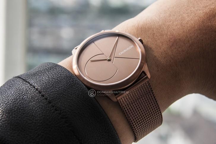 Đồng hồ Calvin Klein K3M11TFK giá rẻ, thay pin miễn phí - Ảnh 3