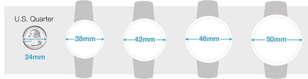 Case Diameter Là Gì? Case Thickness Là Gì? Cách Chọn Size Đồng Hồ So Sánh Case Diameter Nam Mặt Tròn