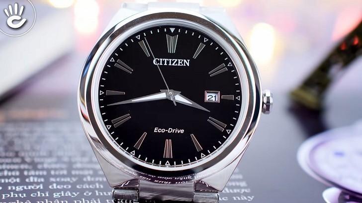Đồng hồ Eco-Drive Citizen AW1370-51F năng lượng ánh sáng - Ảnh 5