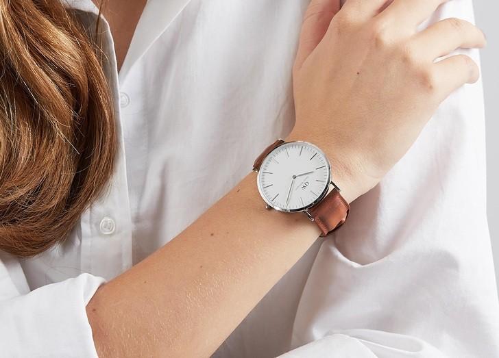 Đồng hồ nữ Daniel Wellington DW00100228 thay pin miễn phí - Ảnh 1