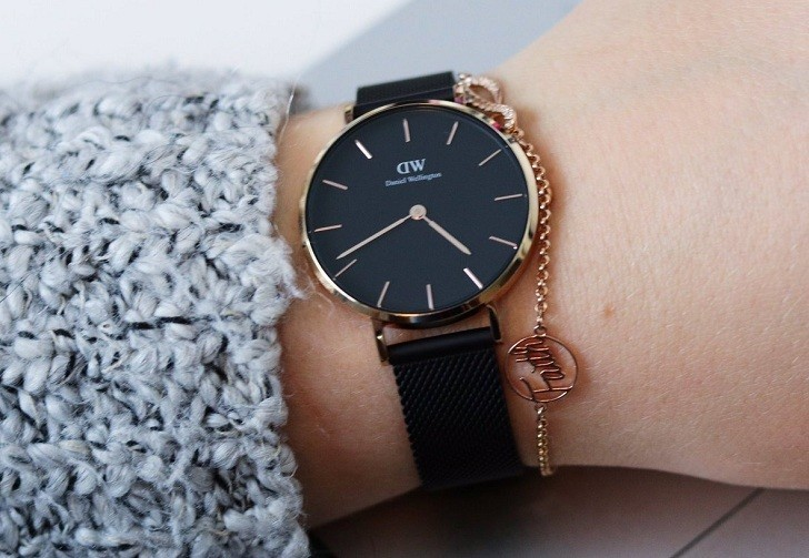 Đồng hồ Daniel Wellington DW00100245 giá rẻ, siêu mỏng - Ảnh 9