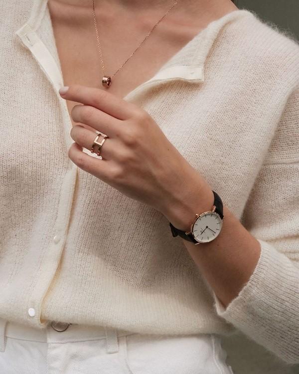Đồng hồ nữ Daniel Wellington DW00100253 dây vải trẻ trung - Ảnh 3