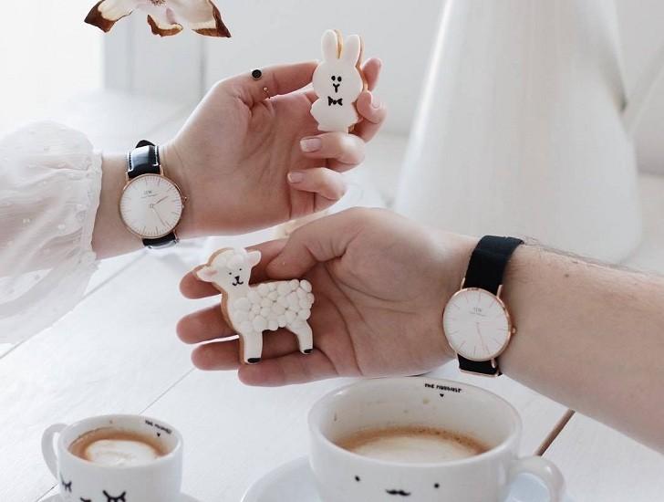 Đồng hồ nữ Daniel Wellington DW00100253 dây vải trẻ trung - Ảnh 6
