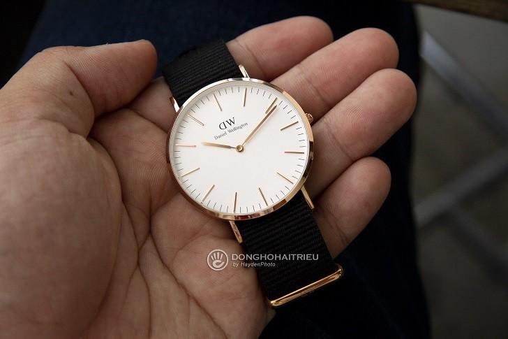 Đồng hồ Daniel Wellington DW00100257 dây vải trẻ trung - Ảnh 1