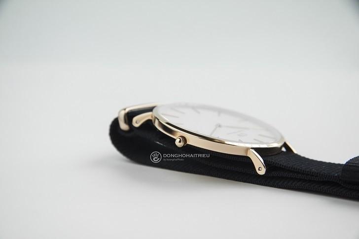 Đồng hồ Daniel Wellington DW00100257 dây vải trẻ trung - Ảnh 3