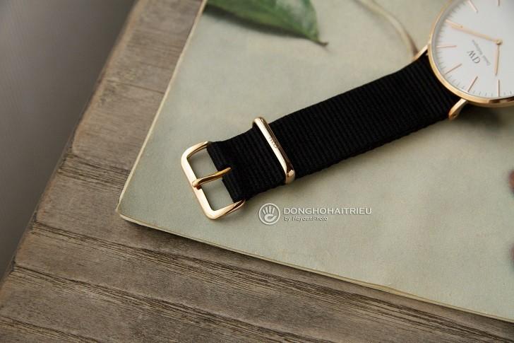 Đồng hồ Daniel Wellington DW00100257 dây vải trẻ trung - Ảnh 5