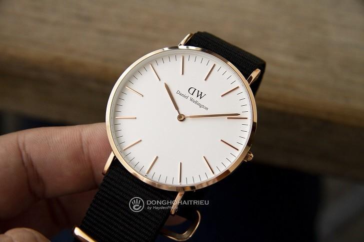Đồng hồ Daniel Wellington DW00100257 dây vải trẻ trung - Ảnh 6