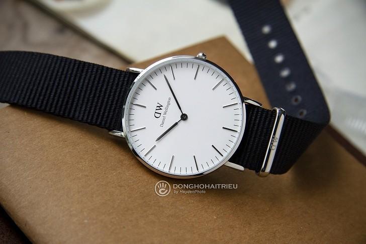 Đồng hồ Daniel Wellington DW00100260 thiết kế đơn giản, thời trang - Ảnh 5