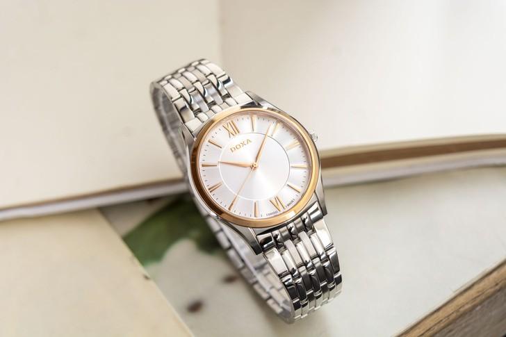 Đồng hồ Doxa D201RSV máy quartz Thuỵ Sỹ, chuẩn Swiss Made - Ảnh 1